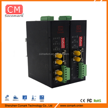 industrial grade modbus rtu optical fiber converter applied in solar electric power