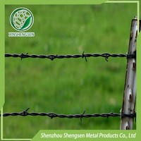 directly manufacruer unturned 3 barbed wire fence best price