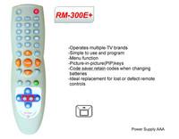RM-300E+ TV codes for universal remote controller tv remote supplier