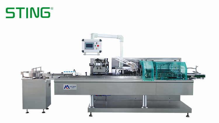 Auto Bottle Cartoning Packaging Machine Automatic For Blister