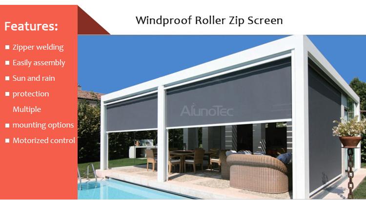 Roller Blinds Shutter Sun Screen Zip