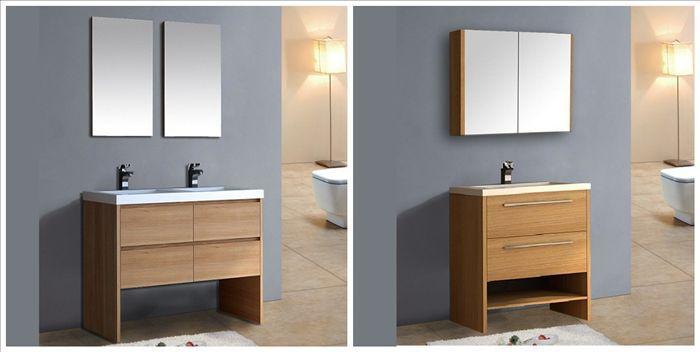 Cheap Used Mid Century Modern Bathroom Vanity