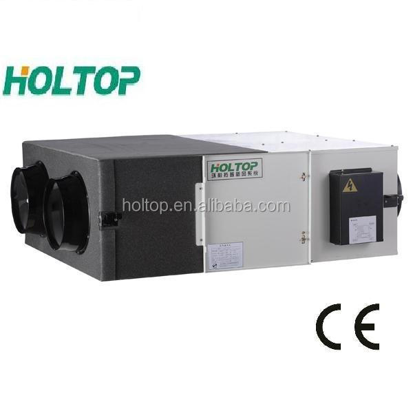 Heat Recuperator System/ Energy Recovery Ventilator with automatic by-pass function