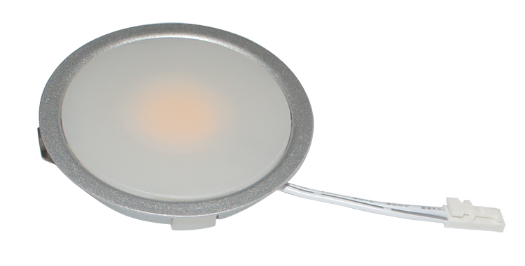 Led Ultra Thin Puck Under Cabinet Lighting 3.5w Recessed Mounting ...