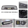 Auto Parts Stainless Steel Dodge Ram 1500 Car Front Grille For 14.5 Inch Dual Row Light Bar