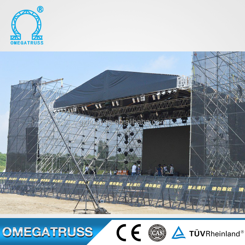 Large stage structures to use scaffold prices ring lock