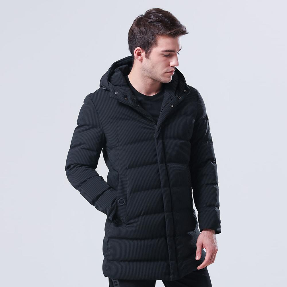 Black Winter Coat Fabric Water Proof Breathable Boys