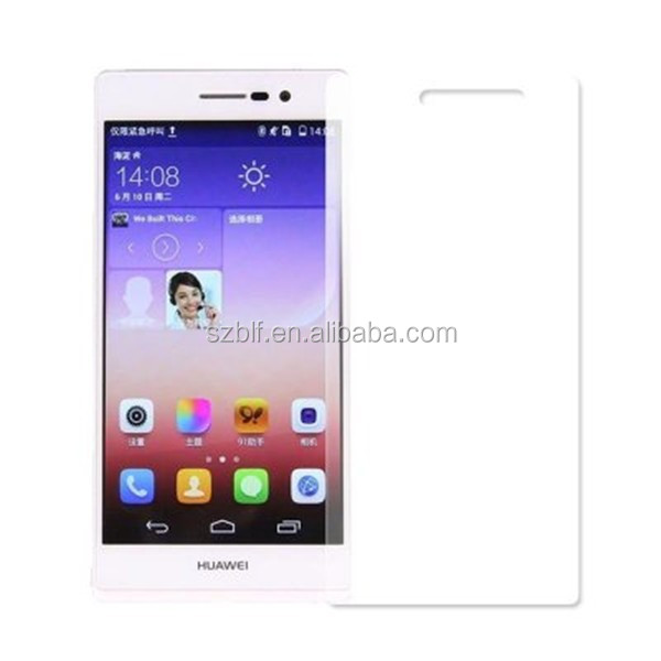 For cell phone huawei ascend p7 screen cover film