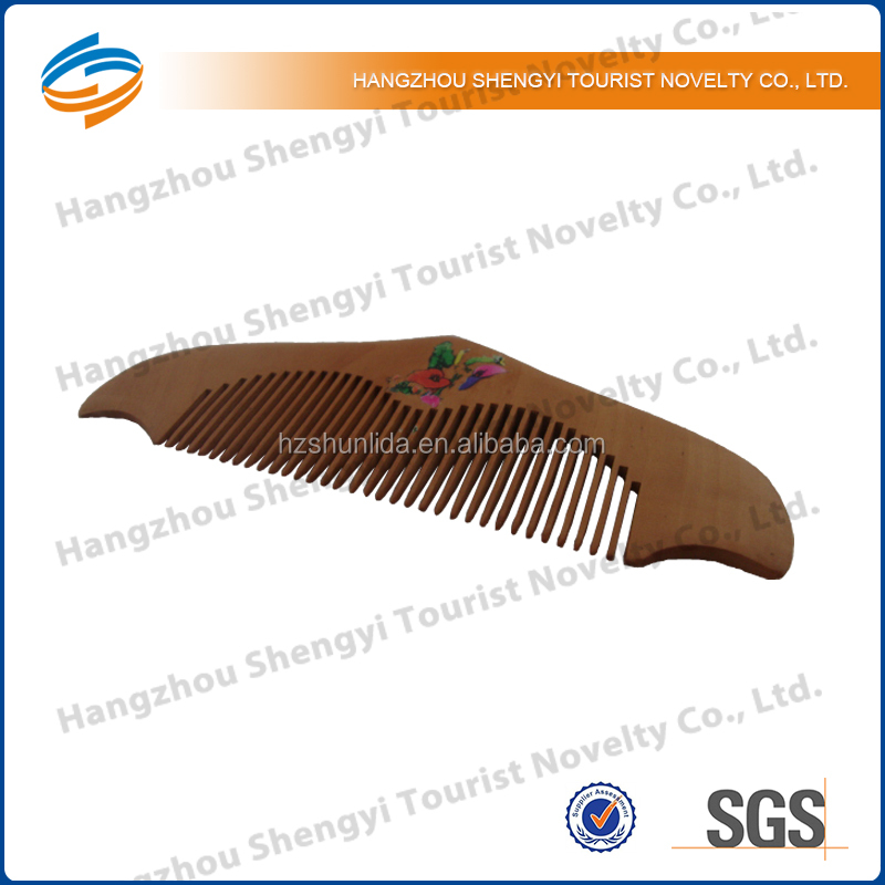 2014 Personalized Hotel Wooden Beard Comb