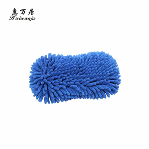 Top fashion custom design reusable cheap micro fiber chenille cleaning pad