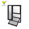 YY aluminium double hung windows with double glazing/aluminium windows and doors comply with Australian & New Zealand standards