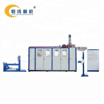PET thermoforming disposable glass machine price