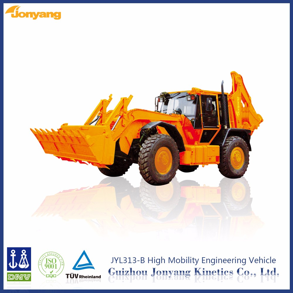 Chinese Jonyang brand new Wheel backhoe loader JYL313-B