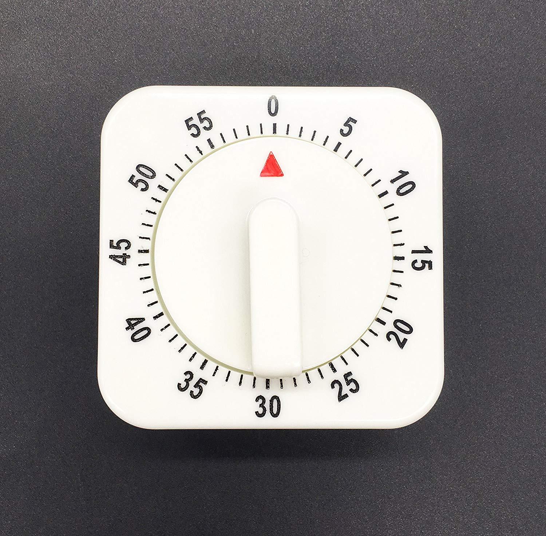 Wispun Kitchen Timer 60 Minutes Countdown Timer Cooking Timer for Cooking Baking Training