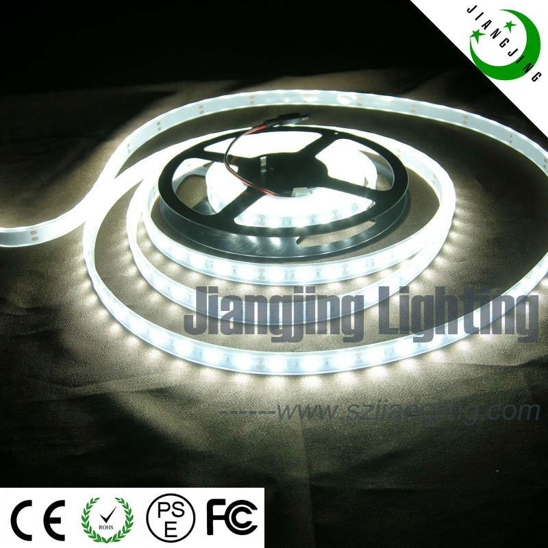 Pure White Solar Powered LED Tape Lights