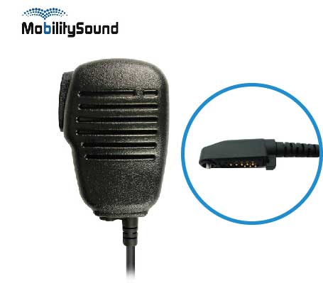 Two Way Radio Light Duty Speaker Microphone for Hytera HYT X1p X1E Z1p PD605 PD685 PD682 PD602 PD662