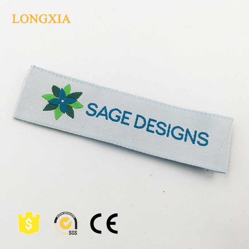 custom fashion wholesale polyester clothing cheap woven labels