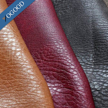 custom color finished cow skin genuine leather,full grain leather for shoes