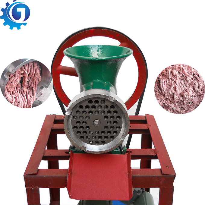 Factory direct supply dier bone crusher Vlees chopper met CE Kip bot vleesmolen machine