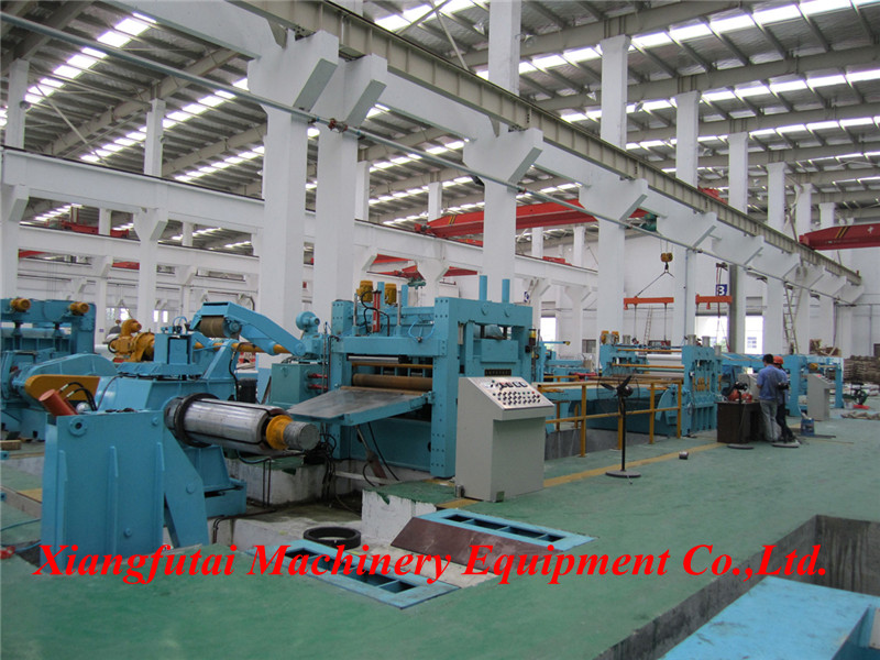 Steel coil cold rolled galvanized sheet cut to length line