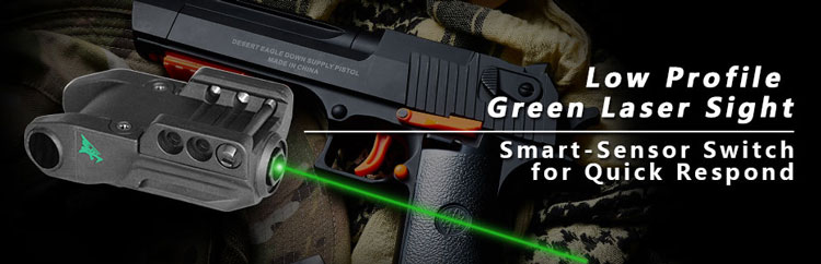 Tactical visible 635-650nm red dot laser sight and led light combo