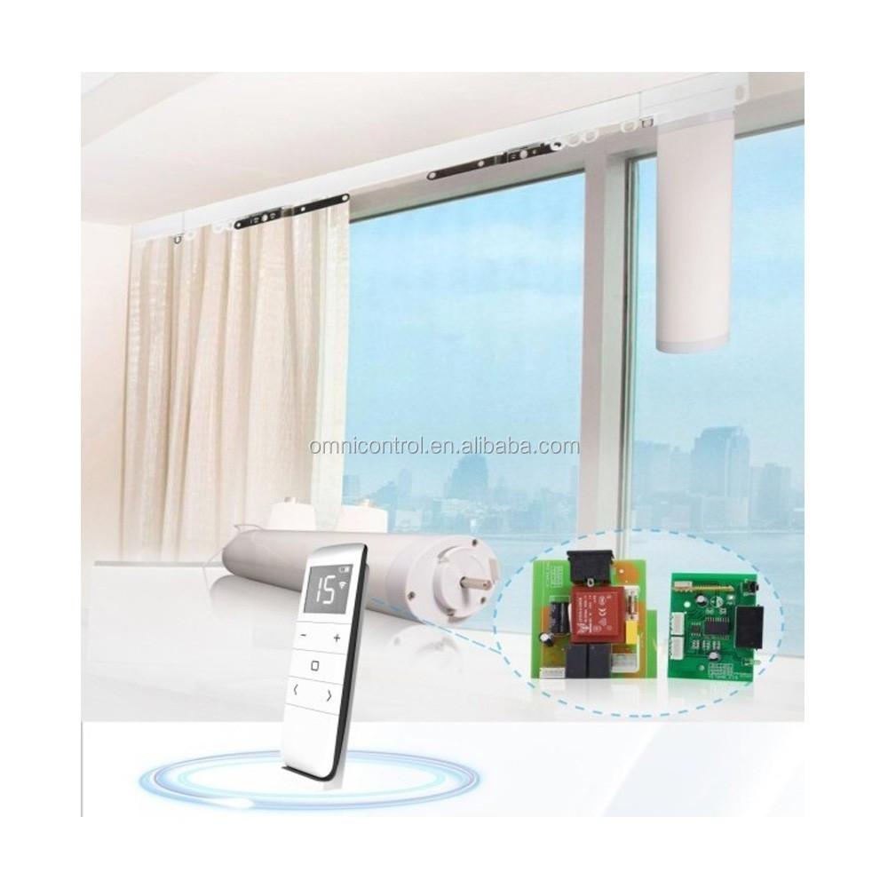 Diy elektrische gordijn systeem dressing kamers gordijnen ...