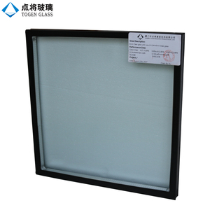 Thermal Vacuum Coated Exterior Glass Curtain Wall for Decoration