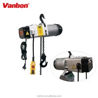 Mini Type Electric Hoist VANBON 250Kg Mini Type Electric Hoist