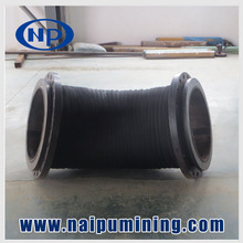 ISO9001 rubber lining pipe and hose for mineral industry
