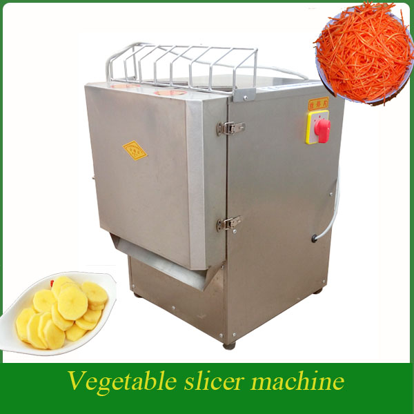 Automatic Commercial Potato Slicer Potato Shredder Vegetable Processing Machine
