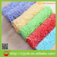 100% polyester shaggy anti slip fire proof bath floor mat