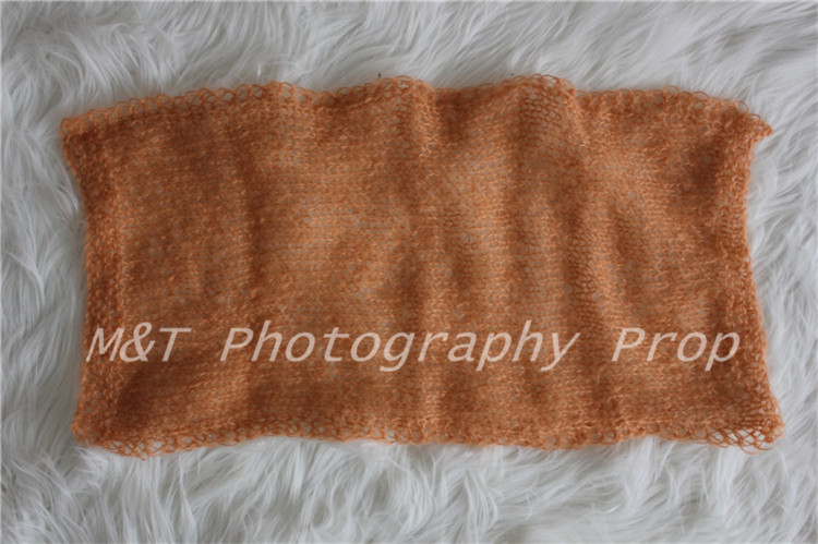 "12""x24""Knit Mohair Wrap Shawl Baby Mohair Wrap Handknit Baby Mohair Wrap"