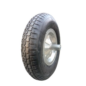 Hot Sale Pneumatic rubber Air wheel for wheel barrow