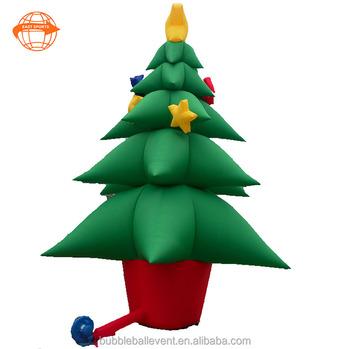 Sapin De Noel Gonflable Support De Sapin De Noël Gonflable Géant,Ornement D'arbre De Noël