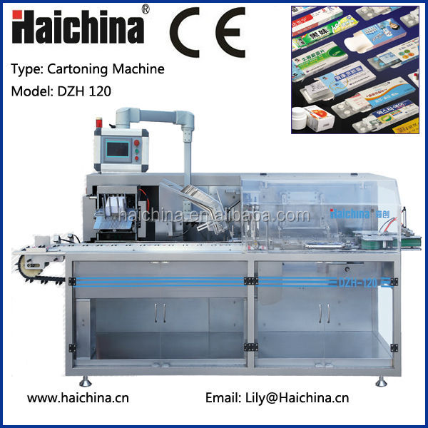 CE Certification DZH 120 Carton Box Packing Machine/Encasing Machine/Cartoner Machine