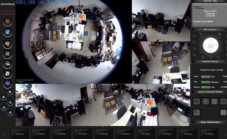 2 0 megapixel 1080p fisheye 360 degree cctv camera for Fish eye camera