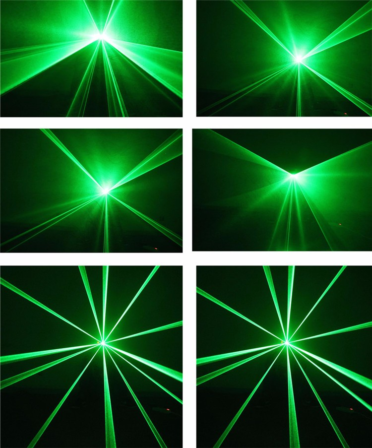 Green Concert Stage Lighting With Remote