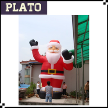 Oxford christmas decoration,large christmas inflatables, inflatable santa claus for sale