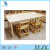 High end Montessori EN 71 Wooden baby dining table and chair