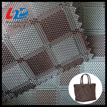 1680D Polyester Yarn Dyed Plaid Fabric With PU/PVC Coating For Bags/Luggages/Shoes/Tent Using