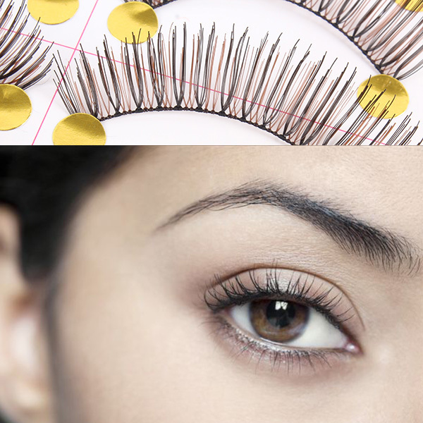 New 10 Pairs Makeup Beauty False Eyelashes Eye Lashes Extension Long Thick Cross PY8 TU2