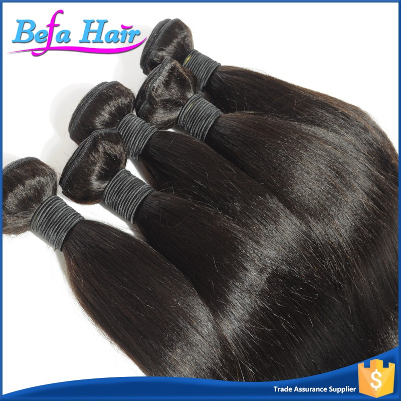 "7A Brazilian Coarse Yaki Straight Virgin Hair 3Bundles Cheap Human Hair Weaves 12""-30"" Brazilian Yaki Straight Hair"