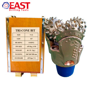 "API 9 1/2"" Roller Cone Drill Bit TCI Tricone Rock Bit for Well Drilling"