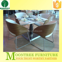 Moontree MDT-1114 european style 4 seater wood dining table