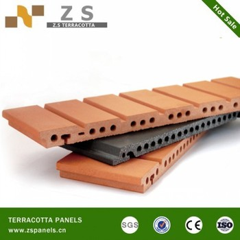Terracotta Louver Window Frames,Round Terracotta Tube,Terracotta Sunscreen  Baguette Curtain Wall Detail Dwg Enamel Panel - Buy Materials Used Wall