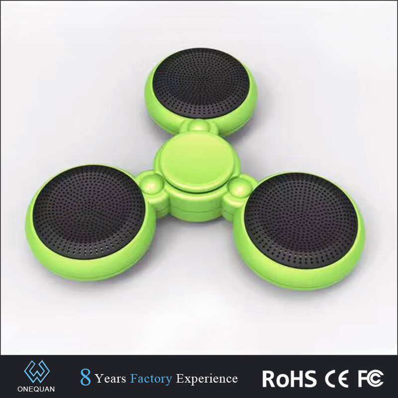 Newest Wireless Mini fidget spinner Bluetooth Sound System Micro Speaker