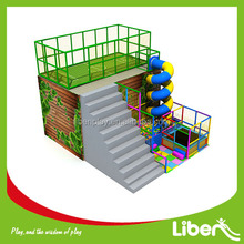 Commerical used customized soccer ball playground with tube slide and ocean ball pool