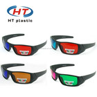 HT3D022 Paper blue film video with 3d glasses