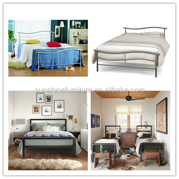 Made In China Cheap Bedroom Furniture Latest Super Single Bed Size