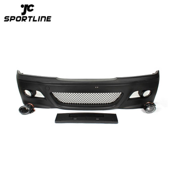 E46 M3 Front Bumper Kits For Bmw E46 4d With Fog Lamps Buy E46 M3 Front Bumper Bumper Kits For Bmw E46 M3 Bumper For Bmw Product On Alibaba Com